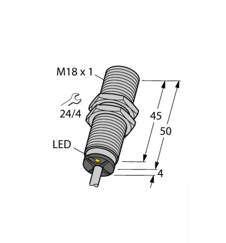 BI5-M18-AP6X Индуктивный датчик