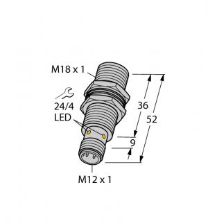 BI8U-MT18-AN6X-H1141 Индуктивный датчик