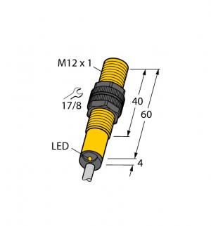 BI2-S12-AZ31X Индуктивный датчик