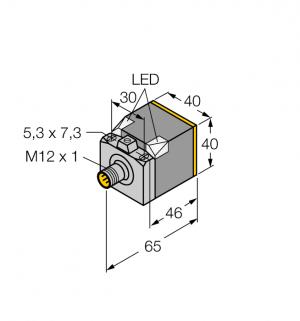 BI15U-CK40-VP4X2-H1141 Индуктивный датчик Turck