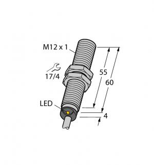 BI4U-M12E-VN6X Индуктивный датчик