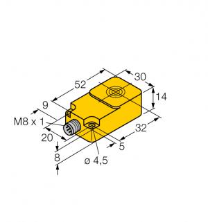 BI10-Q14-LIU-V1141 Индуктивный датчик