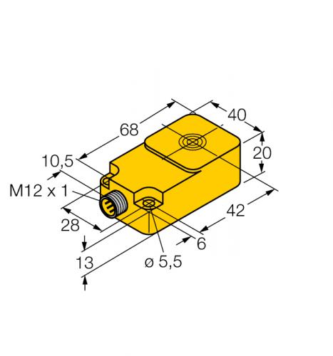 BI15-Q20-LIU-H1141 Индуктивный датчик