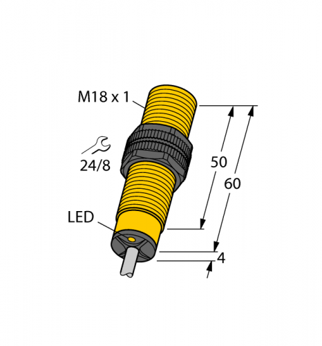 BI5-S18-AP6X Индуктивный датчик