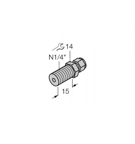 CF-M-6-N1/4-A4 Компрессионный фитинг для датчиков температуры