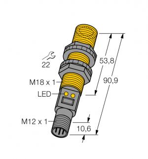 S18UBAQPMA Ультразвуковой датчик
