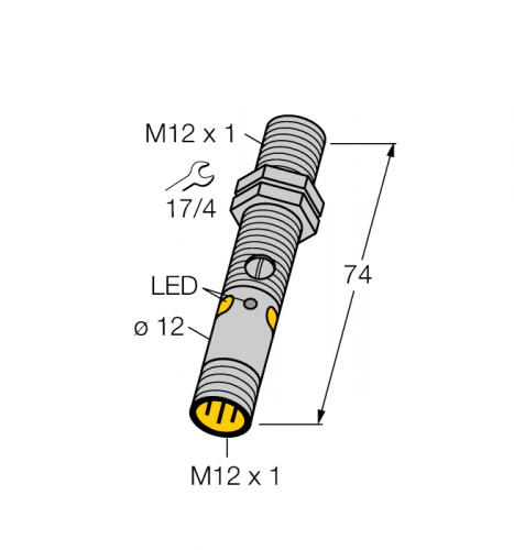 M12NLPQ8 Фотоэлектрический датчик