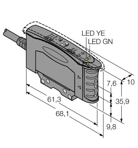 D10AFPGY Фотоэлектрический датчик
