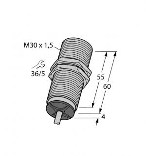 BI10-M30-LIU Индуктивный датчик Turck
