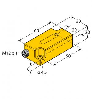 B2N45H-Q20L60-2LI2-H1151/3GD Инклинометр Turck