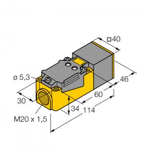BI15-CP40-FZ3X2 Индуктивный датчик