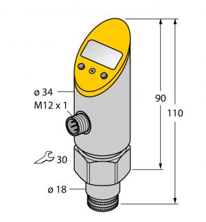 TS-400-LUUPN8X-H1141 Детектирование температуры Turck