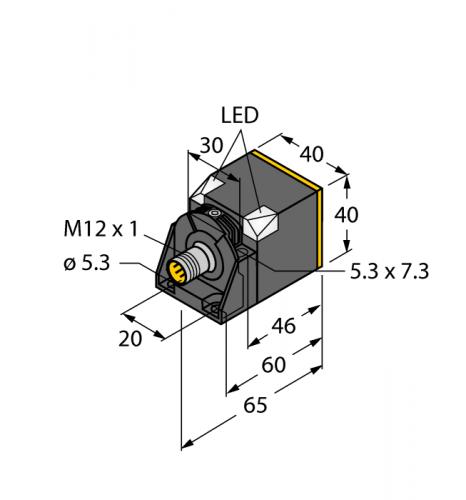 NI35U-CK40-AN6X2-H1141 Индуктивный датчик
