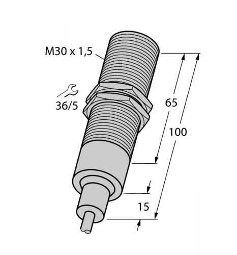 BI10-EM30-AP6/S907 Индуктивный датчик