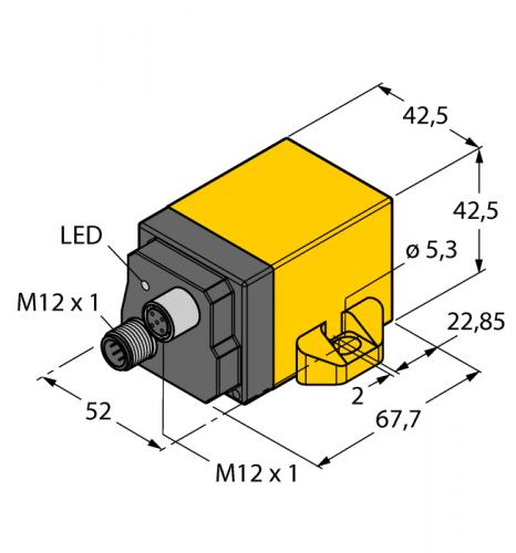 B1N360V-Q42-CNX2-2H1150 Инклинометр