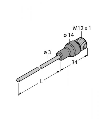 TP-203B-CF-H1141-L200/D805 Детектирование температуры