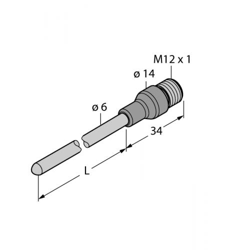 TP-206A-CF-H1141-L350 Детектирование температуры