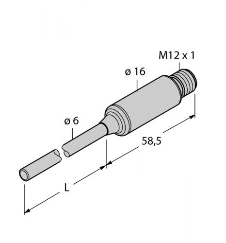 TTMS-206A-CF-LI6-H1140-L100-50/150 Детектирование температуры