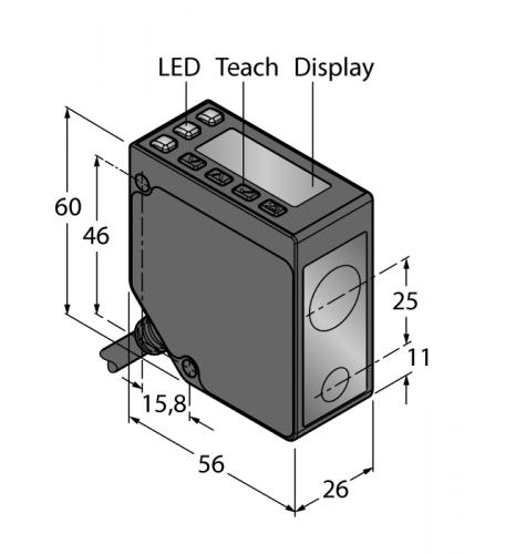 LE550U Фотоэлектрический датчик