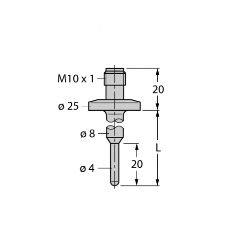 THW-3-TRI3/4-A4-L150 Гильза для термосопротивлений