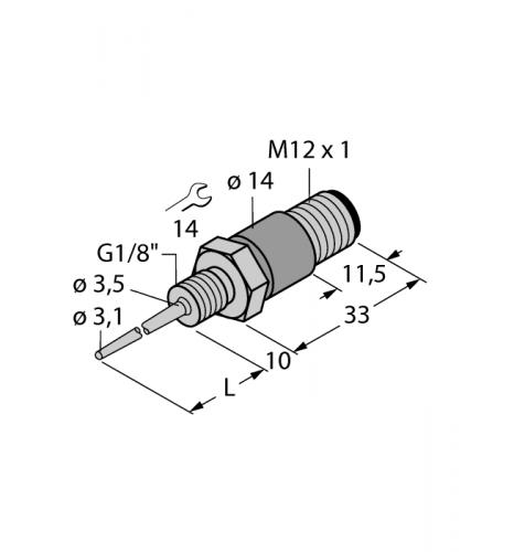 TP-103A-G1/8-H1141-L013 Детектирование температуры
