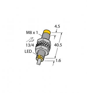 NI5-M08E-VP6X 7M Индуктивный датчик