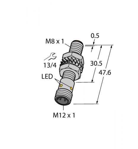 BI3-M08-VP6X-H1341 Индуктивный датчик Turck