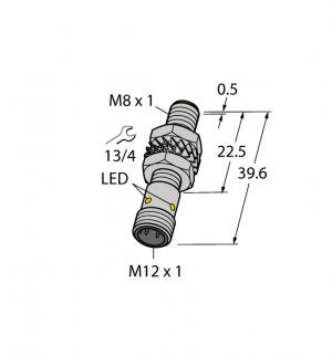 BI2-M08K-AP6X-H1341 Индуктивный датчик