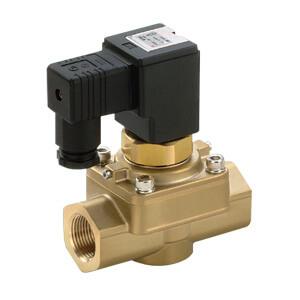 VCH41/42, 2-линейный клапан для воздуха высокого давления (5.0 МПа) с электропневматическим управлением