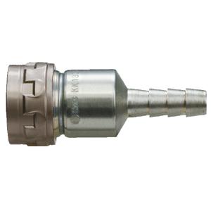 KK130S-*B, Ответная часть для использования с гибкими шлангами