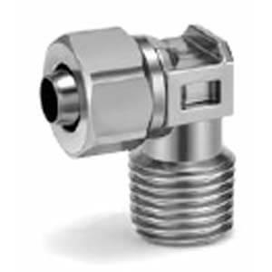 KFG2L, Угловое с внутренней резьбой соединение из нерж. стали с накидной гайкой