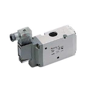 VP300, 3-линейный тарельчатый пневмораспределитель с электропневматическим управлением