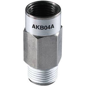AKB, Обратный клапан с быстроразъемным соединением, с наружной и внутренней резьбами