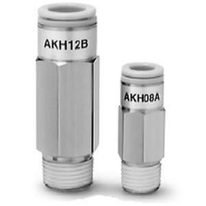 AKH, Обратный клапан с быстроразъемным соединением, с наружной резьбой