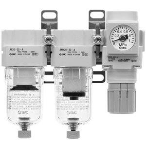 AC20C-B to AC40C-B, Фильтр, Микрофильтр, Регулятор