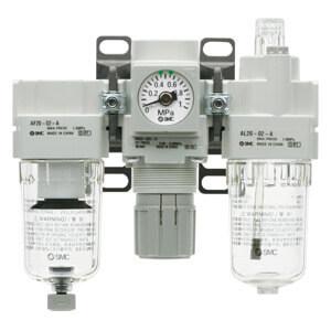 AC20-B...AC60-B, фильтр-регулятор-маслораспылитель
