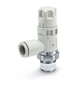 AS-R, Энергосберегающий пневмодроссель с функцией снижения давления