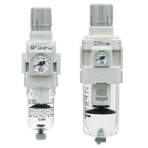 AW30-F02-B Фильтр-регулятор 5мкм