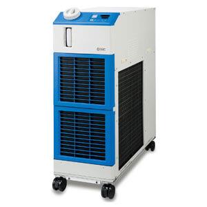 HRSH090, Мощный термостабилизатор (чиллер) рефрижераторного типа, компактный, с воздушным охлаждением, 200/400 VAC