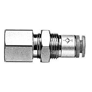 KCE, Быстроразъемное самозапирающееся соединение для панельного монтажа
