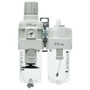 AC20A-B...AC60A-B, Фильтр-регулятор-маслораспылитель