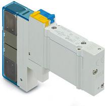SY3000, 5-линейный пневмораспределитель с электромагнитным управлением