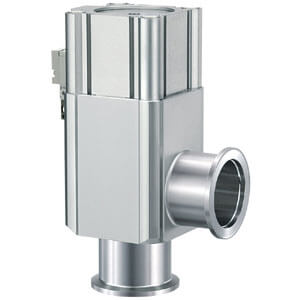 XLAV-2, Алюминиевый угловой клапан для высокого вакуума, Н.З., сильфонное уплотнение