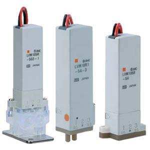 LVM10/100, 2/2 и 3/2 клапан с прямым электромагнитным управлением для химически активных сред